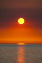 USA, Washington, Ansicht der pazifischen Ozean bei Sonnenuntergang