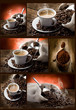 coffee collages