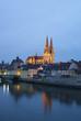 Deutschland, Bayern, Regensburg, Stadtbild