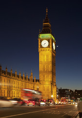 Großbritannien, London, Ansicht der Uhrturm am Westminster