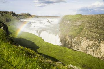 Island, Gullfoss -Wasserfall