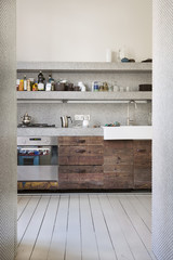 Innenansicht der Küche