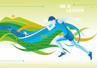 be a leader_run