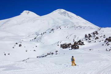 Elbrus - a sleeping volcano