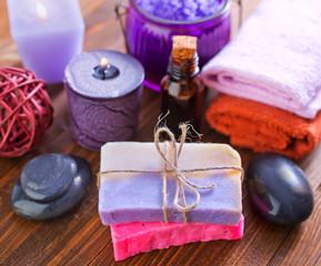 sea salt and soap