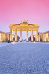 Deutschland, Berlin Brandenburger Tor am Abend