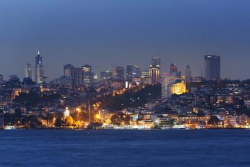 Türkei, Istanbul, Ansicht der Hochhäuser