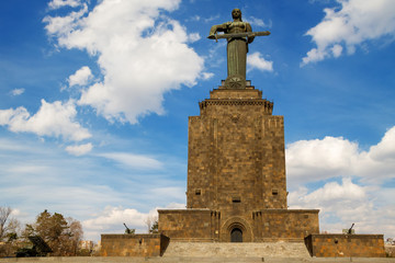 Mother Armenia Monument and Museum victory Erevan.Armenia