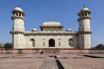 Indien, Uttar Pradesh, Agra, Blick auf Tomb of Itimad -ud- Daulah
