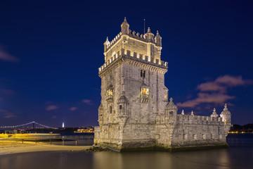 Portugal, Lissabon, Ansicht der Turm von Belém