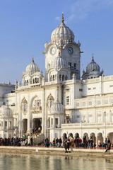 Indien, Punjab, Amritsar, Ansicht von Golden Temple
