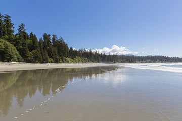 Kanada, British Columbia, Vancouver Island, Pacific Rim National Park Reserve von Kanada, Florencia Bay
