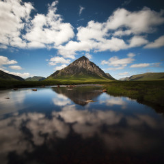 Vereinigtes Königreich, Schottland, Ansicht des Buachaille Etive Mor
