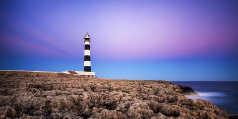 Spanien, Menorca, Ansicht der Leuchtturm