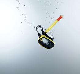 Schnorcheln mit Spritzwasser