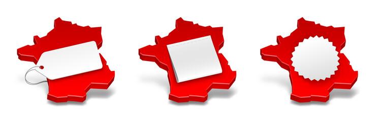 """Icônes """"Label France"""" vectorielles 1"""