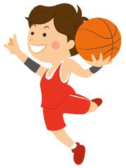 バスケットボール シュート 男性