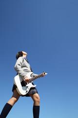 女子高生ギター