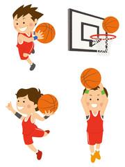 バスケットボール 男性