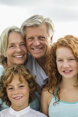 Spanien, Großeltern und Enkel