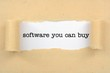 Software you can buy