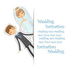 Мультфильм свадебная фотография