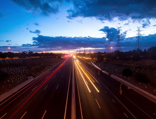4K, Western Ring Highway Melbourne, Time-lapse