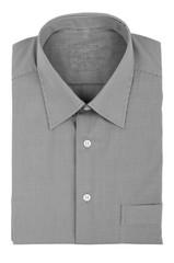 gray checkered shirt