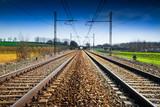 Fototapeta ferrovia