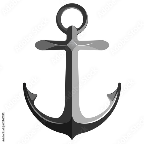 Anchor isolated on white