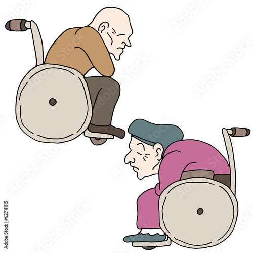 Disabled Elderly People