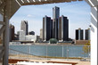 Detroit From Canadian Outdoor Shelter