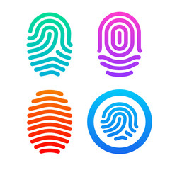 Fingerprint set.