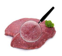 Fleisch unter Der Lupe