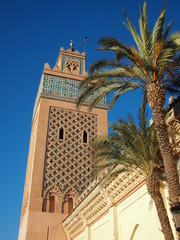 Minarett der Elkasbah-Moschee, Marakesch