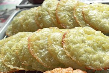 Thailand dessert - fried dough traditional
