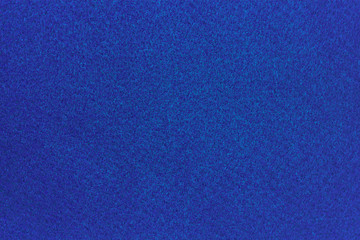 Blue felt material
