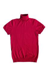 Roll-neck t-shirt