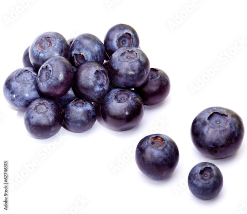 Berries of a bilberry