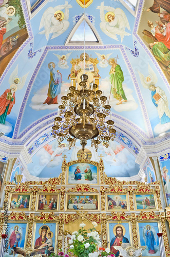 Interior church of St. Catherine in Feodosia