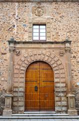 Palacio episcopal de Cáceres, Extremadura, España