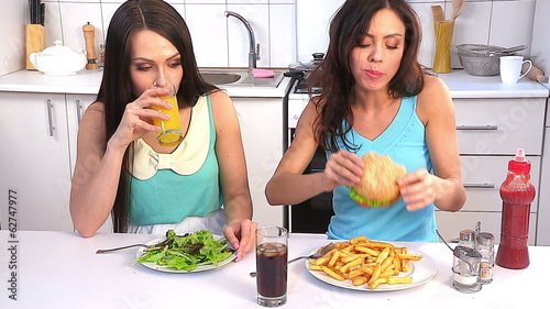 Women on diet