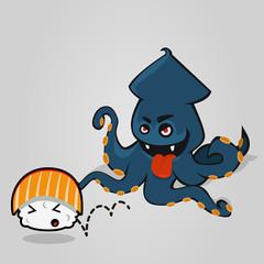 Octopus & Sushi