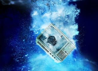 television underwater