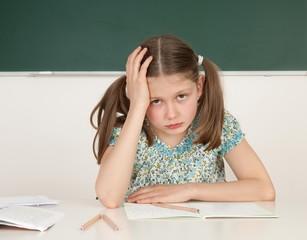 Die überforderte Schülerin
