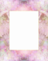 Angel Wings soft frame border