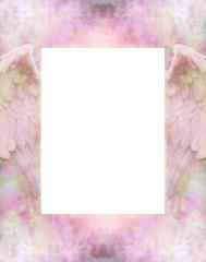 Angel Wings soft frame border