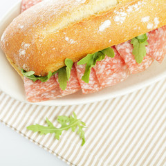 Sandwich, food background