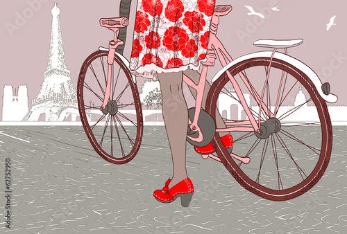 Riding a bike - 62752950