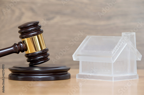 house and gavel